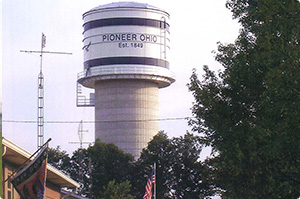 Pioneer water tower