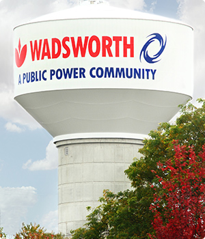 Wadsworth water tower